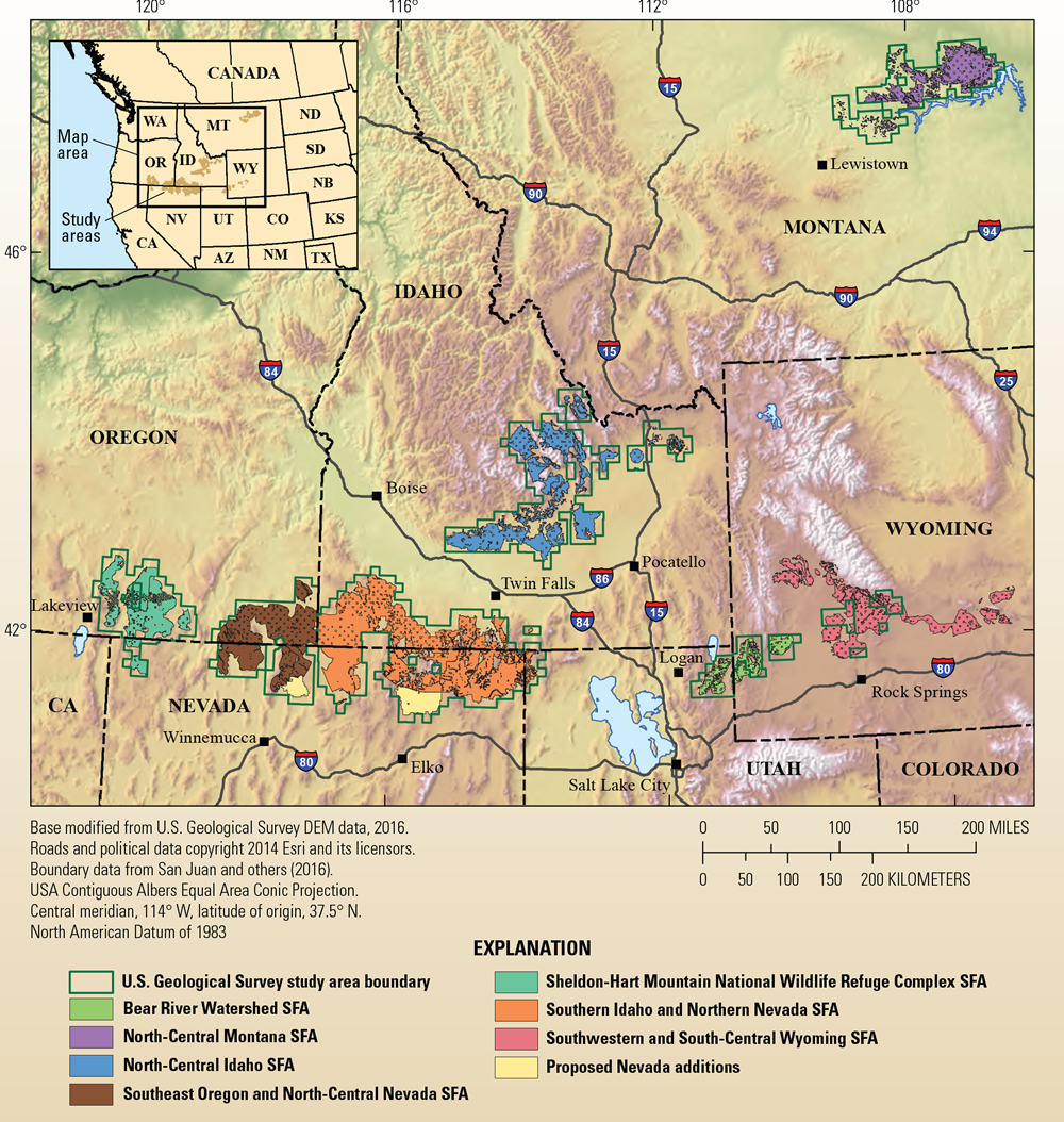 USGS Mineral Resources On-Line Spatial Data