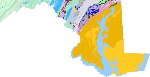 Maryland Geologic Map Data