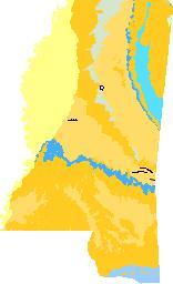 Mississippi geologic map data